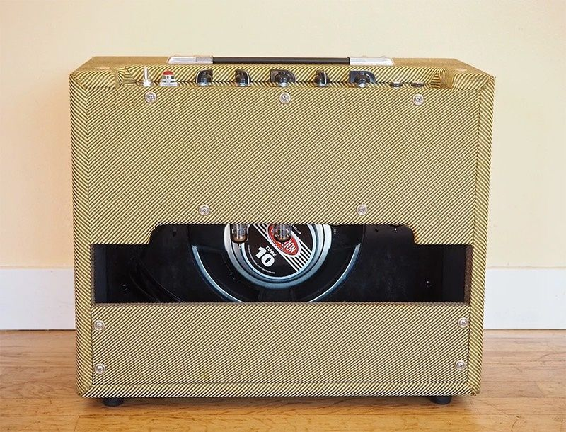 Tweed Tube Guitar Amplifier with Reverb Tremolo 15W