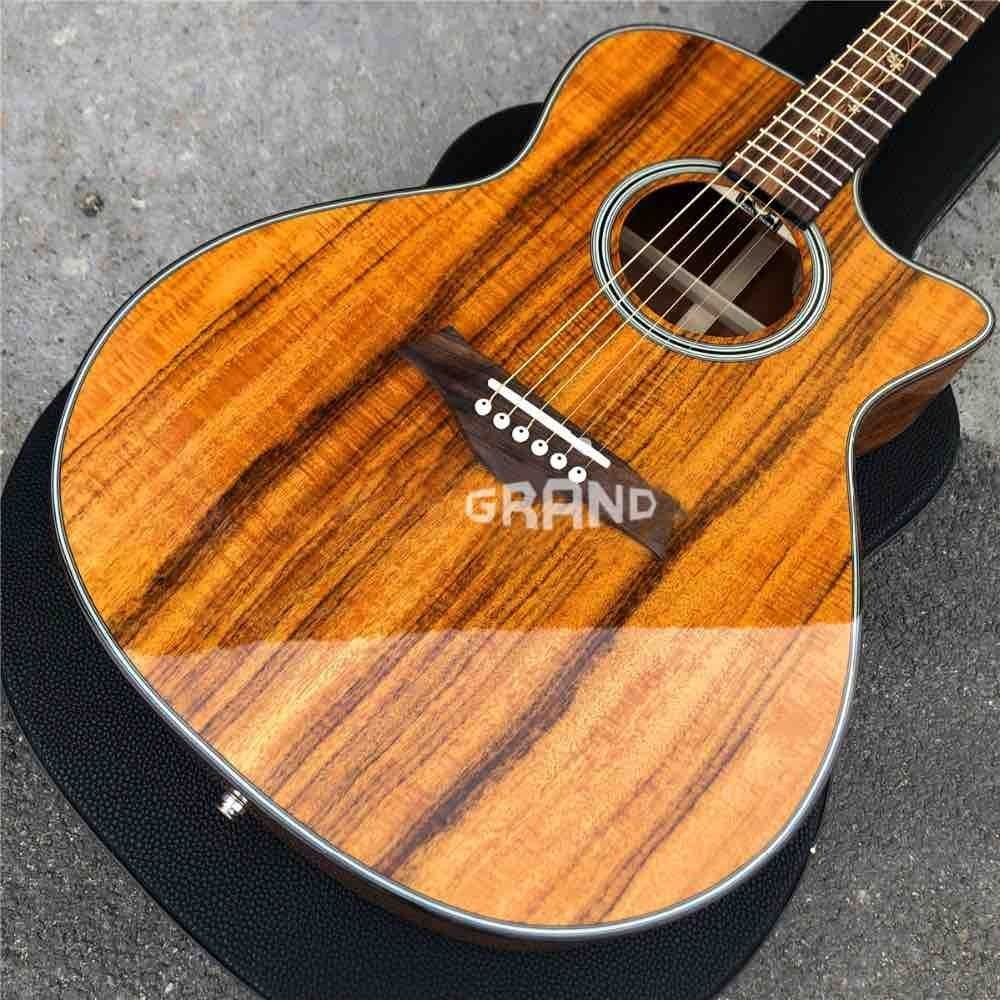 Cutaway K24ce Koa Wood Classic Acoustic Guitar in Natural