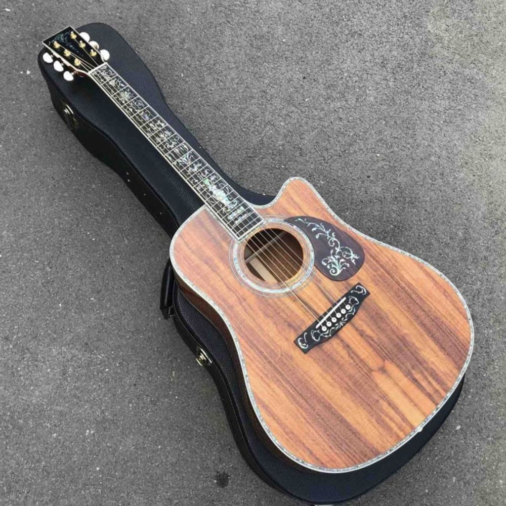 41 inch KOA Wood D45KC Acoustic Guitar