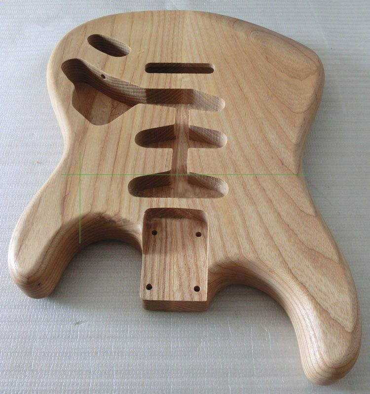 Ash Wood ST/SQ Guitar Body