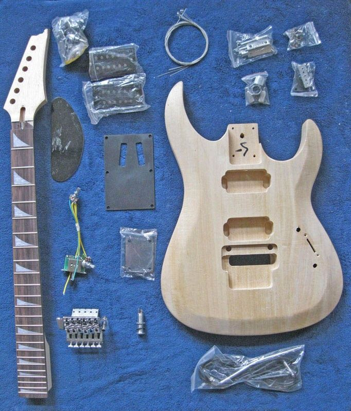Unfinished Guitar Kits  A10