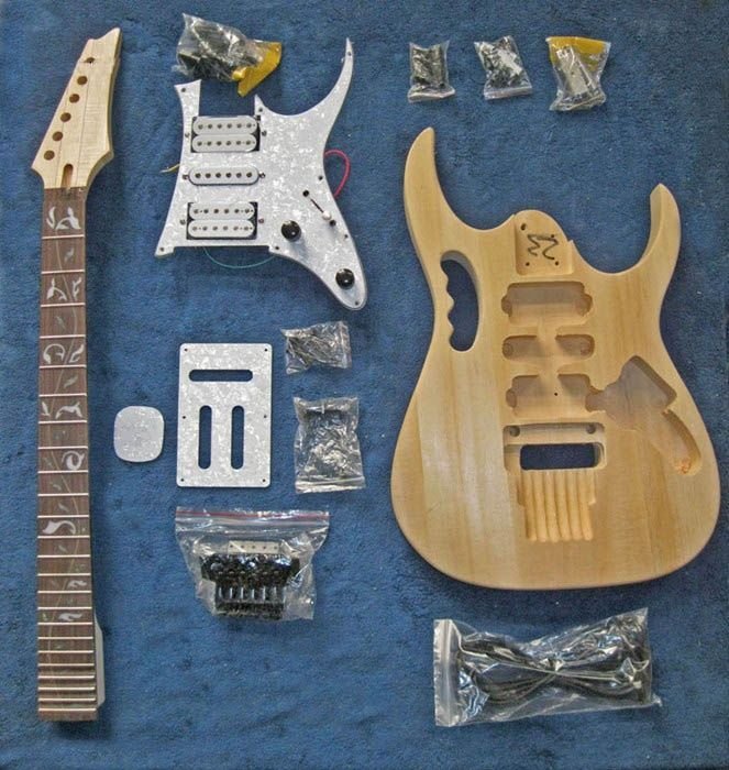 Unfinished Guitar Kits  A14
