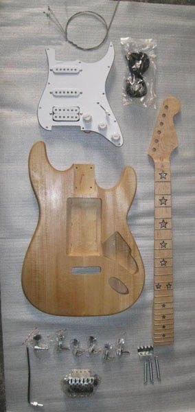 Unfinished Guitar Kits  A22