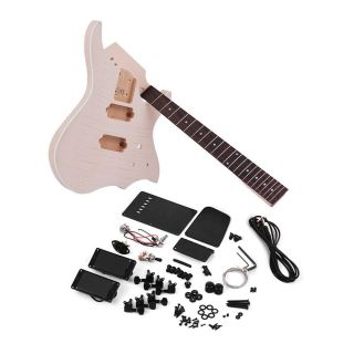 Unfinished DIY Electric Guitar Kit