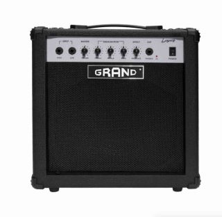 25W Solid State Bass Amplifier Combo in Black