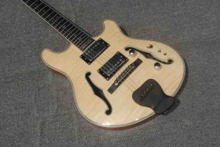 Double F-hole Full Hollow Electric Guitar