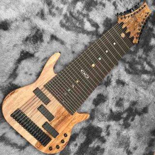 Custom 17 Strings Electric Bass Guitar Rosewood Fingerboard Mahogany Body Neck Customized Logo