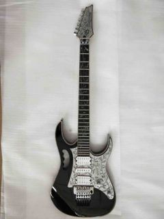 Custom Made Aluminum Chrome Plate Iban 10th Jem 1996 Guitar with Authorized Wilkinson Parts and Floyd Rose Tremolo