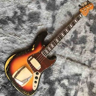 4 Strings Relic Bass Guitar